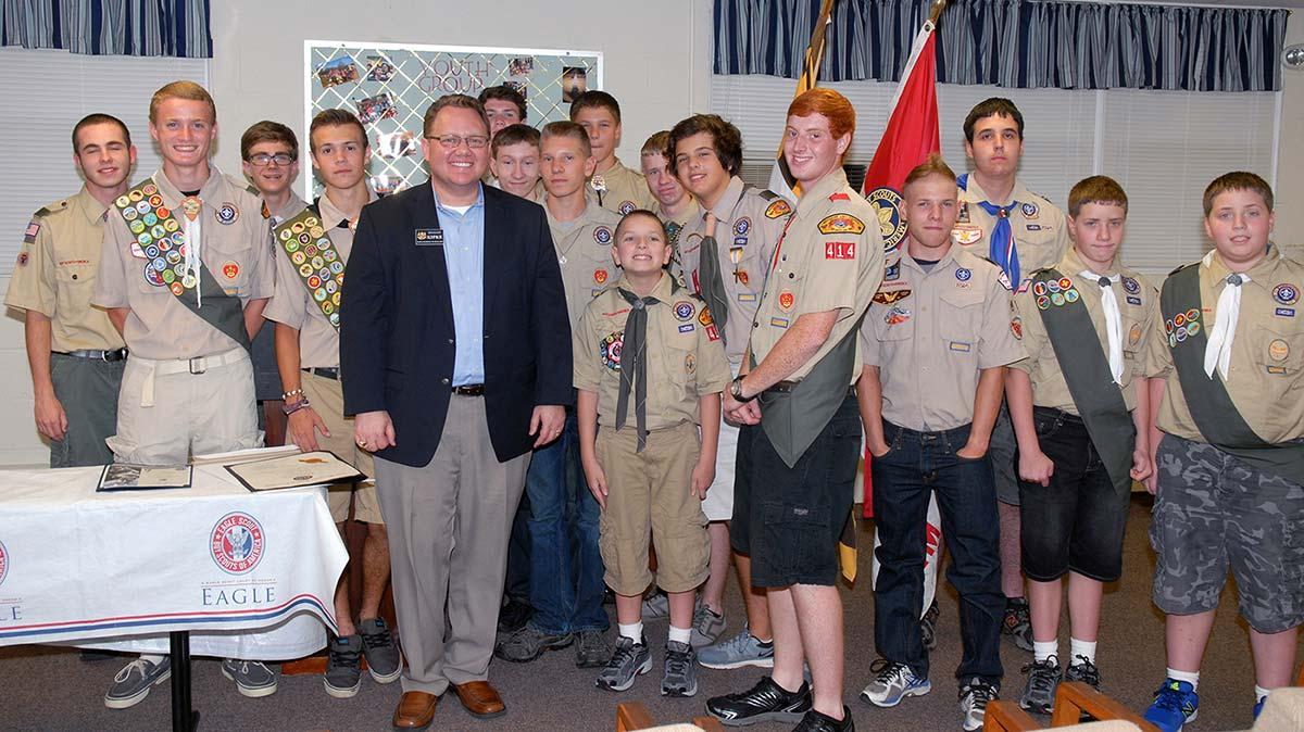 Boy Scouts Troop 414