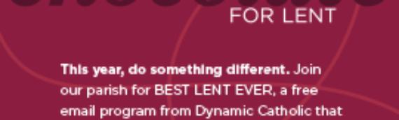 Best Lent Ever