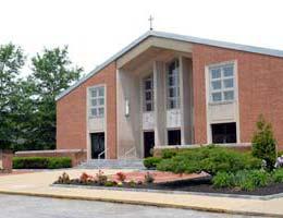 St. Jane Frances Church entrance