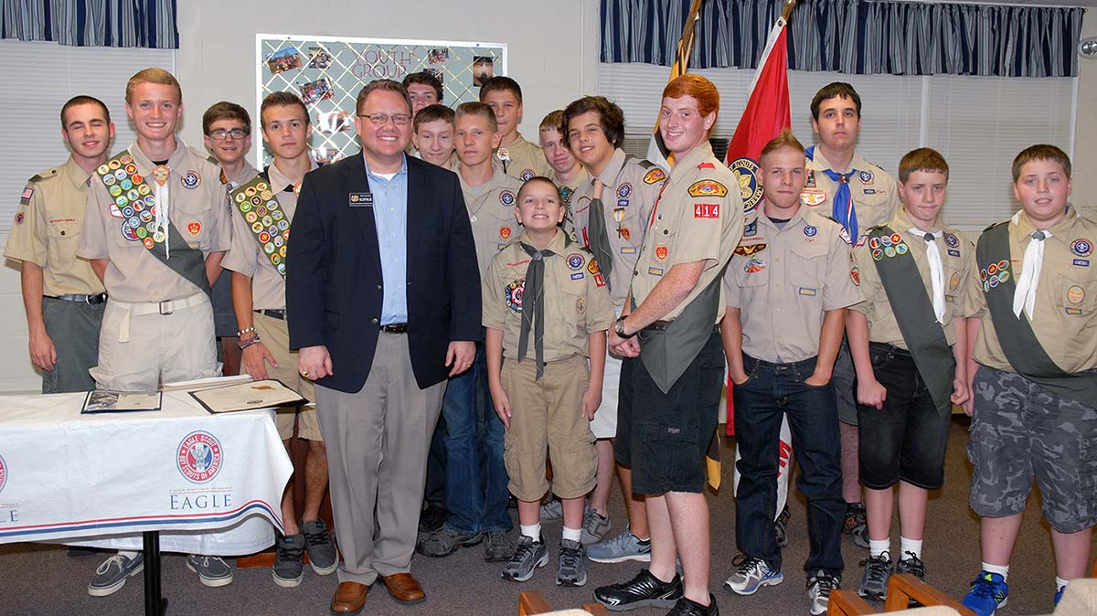 Boy Scouts Troop 414