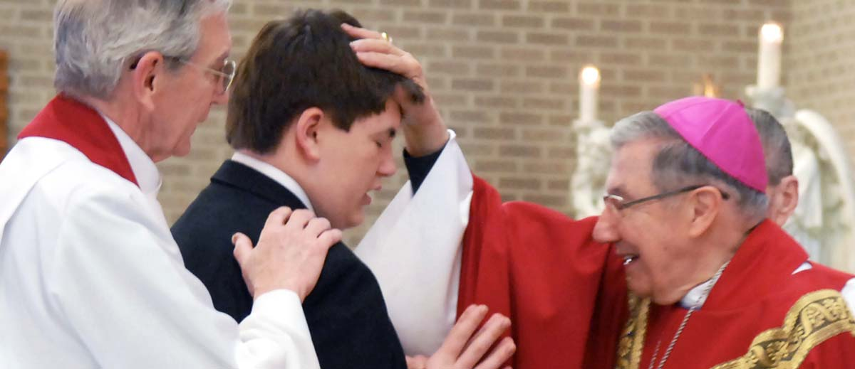 Confirmation - laying on of hands