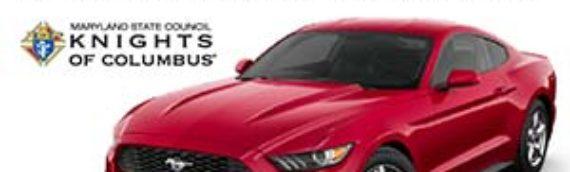 2020 Ford Mustang Car Raffle