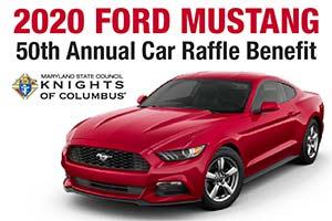 Knights of Columbus 2020 Mustang Car Raffle