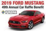 2019 Ford Mustang car raffle