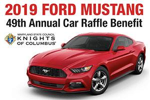 2019 Ford Mustang car raffle