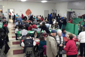 Pancake breakfast with Santa 2014 Christmas