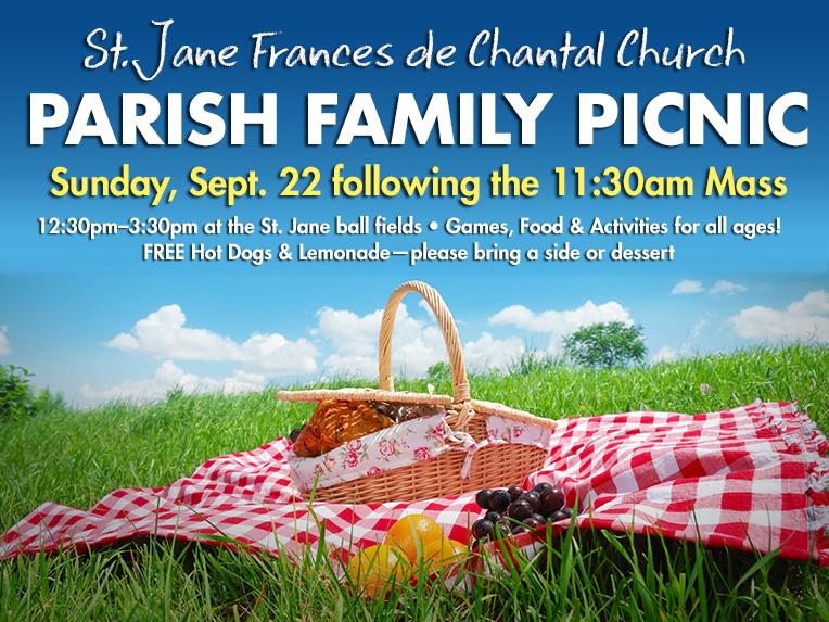 St  Jane Frances Parish Family Picnic - St  Jane Frances de