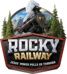 Rocky Railway VBS logo